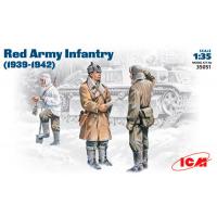 упаковка игры Пехота РККА, 1939-1942, фигуры 1:35