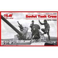 упаковка игры Советский танковый экипаж (1979-1988), фигуры 1:35