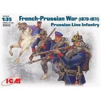 упаковка игры Фигуры, Прусская линейная пехота 1:35