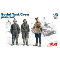 упаковка игры Советский танковый экипаж, 1939-1942, фигуры 1:35