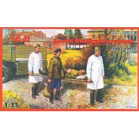 упаковка игры Фигурки Советский медицинский персонал, 2МБ 1:35