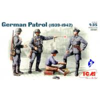 упаковка игры Германский патруль (1939-1942 г.), фигуры 1:35