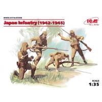 упаковка игры Фигуры Японская пехота (1942-1945 г.) 1:35