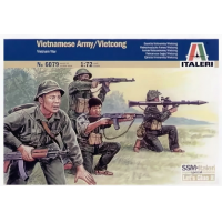 упаковка игры Фигуры Vietcong 1:72