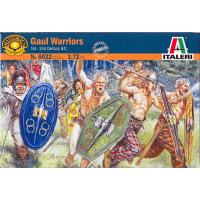 упаковка игры Солдаты GAULS WARRIORS (I-II CENTURY B.C.) 1:72