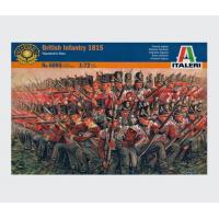 упаковка игры Солдаты NAPOLEONIC WARS - BRITISH INFANTRY 1815 1:72