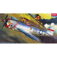 упаковка игры P-47D BUBBLE-TOP 1:72