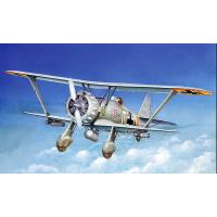 упаковка игры Самолет Hs-123 A-1 1:48
