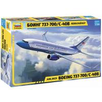 упаковка игры Боинг 737-700 1:144