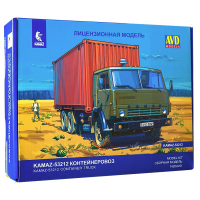 упаковка игры КАМАЗ-53212 контейнеровоз 1:43