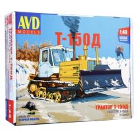 упаковка игры Трактор Т-150Д  1:43