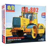 упаковка игры Виброкаток СД-802 1:43