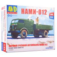 упаковка игры Паровой грузовой автомобиль НАМИ-012 1:43