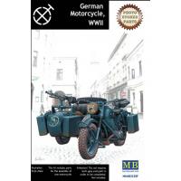 упаковка игры Германский мотоцикл 1:35