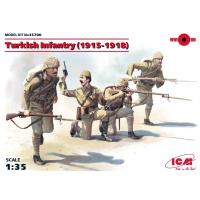упаковка игры Фигуры, пехота Турции (1915-1918 г.) 1:35
