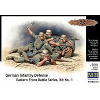 упаковка игры Фигуры германская пехота, восточный фронт 1:35