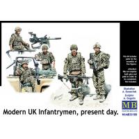 упаковка игры Фигуры современная британская пехота, наше время 1:35