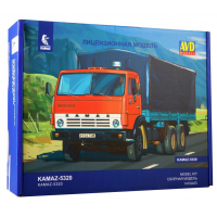 упаковка игры КАМАЗ-5320 бортовой с тентом 1:43