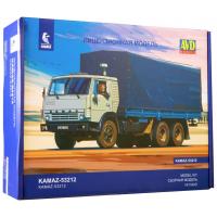 упаковка игры КАМАЗ-53212 бортовой с тентом 1:43