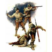 упаковка игры Фигуры Американская пехота 1944 года 1:35