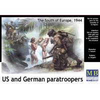 упаковка игры Американские и немецкие десантники, юг Европы 1944 г 1:35