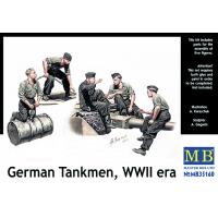 упаковка игры Немецкие танкисты, период Второй мировой войны 1:35