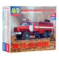 упаковка игры Автоцистерна пожарная АЦ-7,5-40 (4320) 1:43