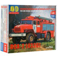 упаковка игры Пожарно-спасательный ПСА-2 (4320) 1:43