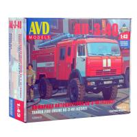 упаковка игры Пожарная автоцистерна АЦ-3-40 (43502) 1:43