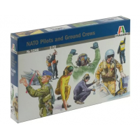 упаковка игры NATO PILOTS AND GROUND CREW 1:72