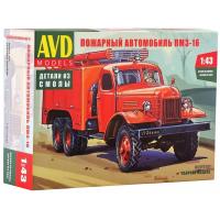 упаковка игры Пожарный автомобиль ПМЗ-16 1:43