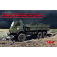 упаковка игры Советский шестиколесный армейский грузовик 1:35