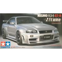 упаковка игры NISMO R34 GT-R Z-tune 1:24