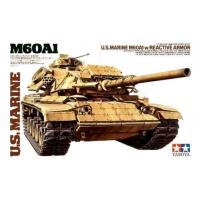 упаковка игры Американский танк М60А1 w/REACTIVE ARMOR и 2 фигуры 1:35