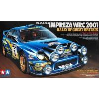 упаковка игры SUBARU IMPREZA WRC 2001 Rally of Great Brit. 1:24