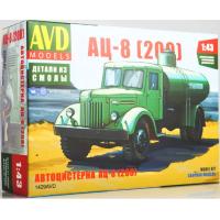 упаковка игры Автоцистерна АЦ-8 (200) 1:43
