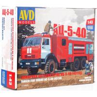 упаковка игры Пожарная автоцистерна АЦ-5-40 (43118) 1:43