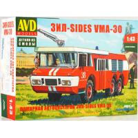 упаковка игры Пожарная автоцистерна ЗИЛ-SIDES VMA-30 1:43