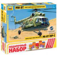 упаковка игры Вертолет Ми-8 1:72 подарочный набор