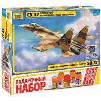 упаковка игры Самолет СУ-37 1:72 подарочный набор