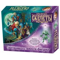 упаковка игры Набор светящихся солдатиков Скелеты