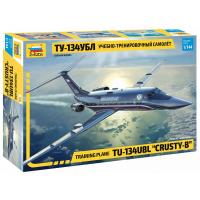 упаковка игры Учебно-тренировочный самолет Ту-134 УБЛ 1:144