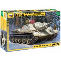 упаковка игры Советский истребитель танков СУ-122 1:35