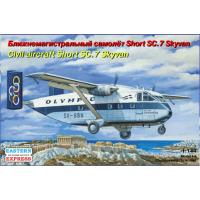 упаковка игры Самолет Short SC-7 Skyvan OLYMPIC 1:144