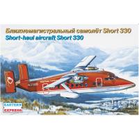 упаковка игры Пассажирский самолет Short 330 NewYork 1:144