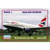 упаковка игры Авиалайнер А-318 British 1:144