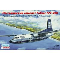 упаковка игры Самолет Fokker F-27-200 BMA / Eagle 1:144