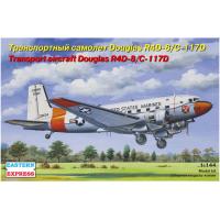 упаковка игры Транспортный самолет Douglas R4D-8/C-117D 1:144