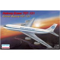 упаковка игры Авиалайнер Б-707 1:144