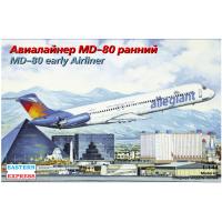 упаковка игры Авиалайнер MD-80 ранний Allegiant 1:144